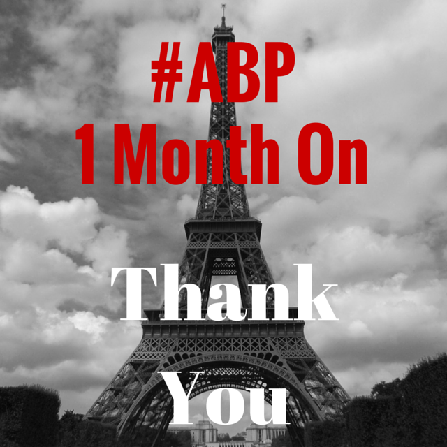 #ABP 1 Month On