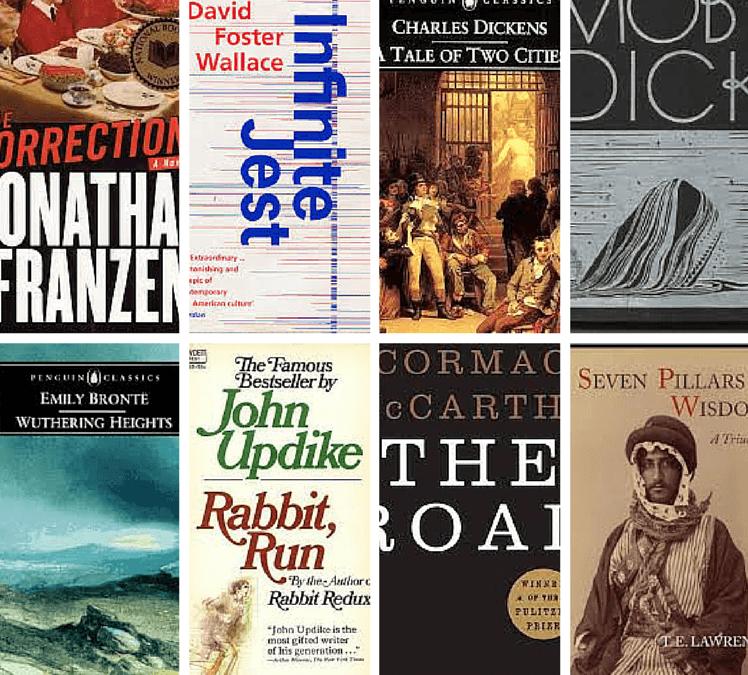 Covers of brilliant books that are rubbish