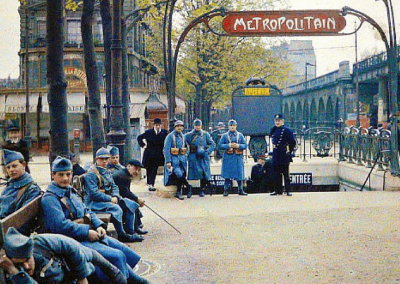 World War 1 Soldiers Metro Photo