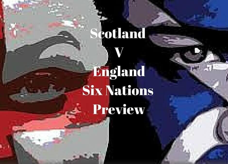 Scotland V England Rugby Six nations