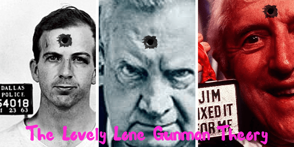 THE LOVELY LONE GUNMAN THEORY