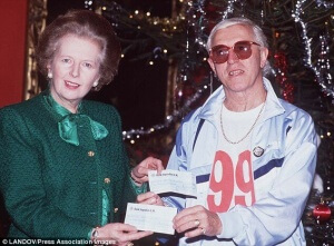 Thomas-Bartlett-#ABP-Americans-Bombing-Paris-Writer-Margaret Thatcher Prime Minister of England with Jimmy Saville