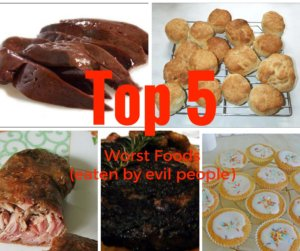 Top 5 worst foods-Thomas-Bartlett-#ABP-Americans-Bombing-Paris-Writer