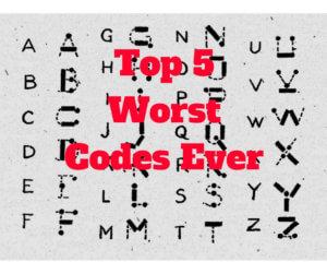Worst Codes Ever Thomas Bartlett Top 5 worst Kids