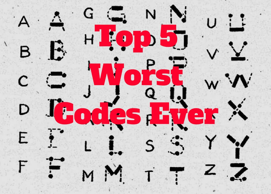 Worst Codes Ever Thomas Bartlett Top 5 worst Kids